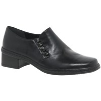 Gabor Hertha Leather Loafers Black