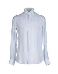 Bagutta Shirts Shirts Men Light Grey