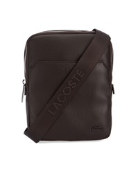 Lacoste Brown Crossover Shoulder Bag