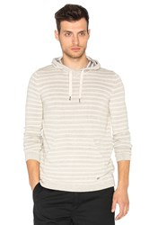 Deus Ex Machina Surf Stripe Hoody Light Gray