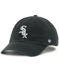 '47 Brand Chicago White Sox Clean Up Hat Black