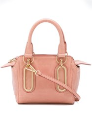 See By Chloe Mini 'Paige' Crossbody Bag Pink And Purple