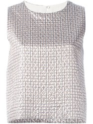 Max Mara Metallic Tank Top