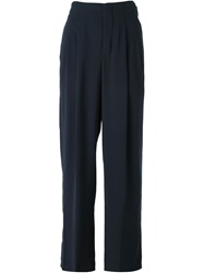 See By Chloe Wide Leg Trousers Blue