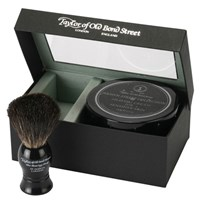 Taylor Of Old Bond Street Jermyn Pure Badger Brush And Shaving Cream Bowl Set