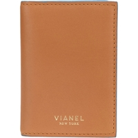 Vianel Folding Card Holder Beige Tan