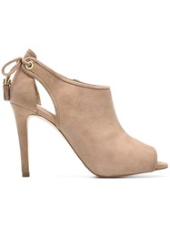 Michael Michael Kors 'Jennings' Booties Nude And Neutrals