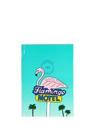 Fineandcandy Flamingo Motel Notebook