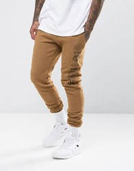 Friend Or Faux Stack Joggers Tan