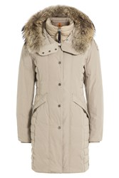 Parajumpers Angie Down Jacket With Fur Trimmed Hood Gr. S