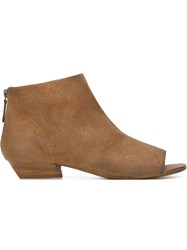 Marsa Ll Open Toe Boots Brown