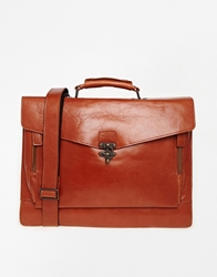 Conductor Leather Satchel