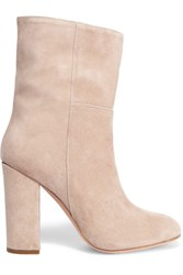 Iris And Ink Suede Ankle Boots Neutral