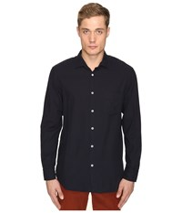 Billy Reid John T Button Up Midnight