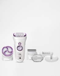 Braun Silk Epil 9 Wet And Dry Epilator Skin Spa With Cleansing Brush Silkepil9