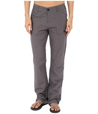 Woolrich Laurel Run Convertible Pant Dark Ash Women's Casual Pants Gray