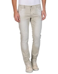 S D Side Denim Pants Beige