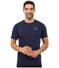 The North Face Short Sleeve Crag Crew Cosmic Blue Men's T Shirt