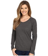 Columbia Silver Ridge Zero Long Sleeve Shirt Shark Heather Women's Long Sleeve Pullover Gray
