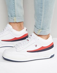 Fila T 1 Mid Trainers White