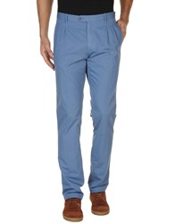 Pence Trousers Casual Trousers Men Pastel Blue