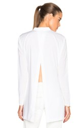 Thakoon Lace Front Top In White