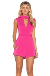 Finders Keepers Divine Eternal Playsuit Pink