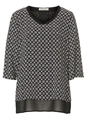 Betty Barclay Printed Blouse Black