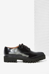 Nasty Gal Seymour Leather Oxford Shoe