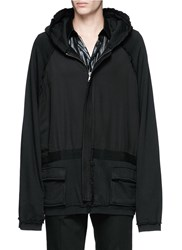 Haider Ackermann 'Perth' Oversized Zip Hoodie Black