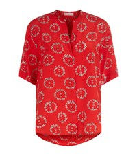 Sandro Cyrielle Peace Top Female Red