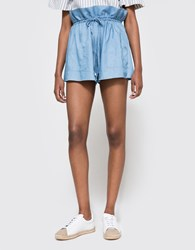 C Meo Collective Floating High Short Chambray