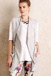 Pure Good Draped Terry Vest Light Grey