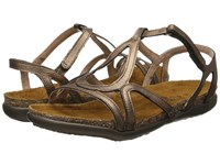 Naot Footwear Dorith Gold Grecian Leather Women's Sandals Brown