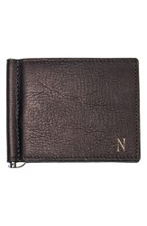 Men's Cathy's Concepts Personalized Leather Wallet And Money Clip Brown Brown N