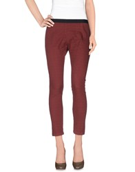 Alysi Trousers Casual Trousers Women Cocoa