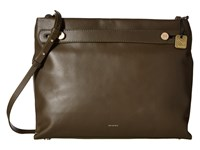 Skagen Mikkeline Satchel Dark Green Satchel Handbags