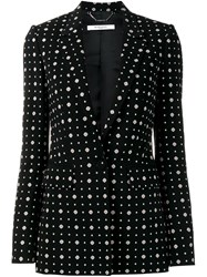 Givenchy Printed Blazer Black