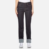 Paul Smith Ps By Women's Turn Up Jeans Blue