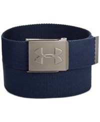 Under Armour Webbed Golf Belt Blue Jet