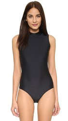 Cover Sleeveless Swimsuit Black