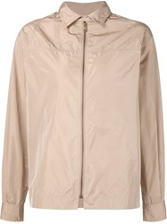 Tomas Maier Zipped Jacket Nude And Neutrals