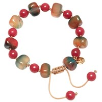 Lola Rose Sury Bracelet Red Quartz Agate