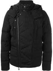 Belstaff Hooded Biker Jacket Blue