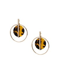Ralph Lauren Orbital Drop Earrings Gold