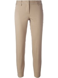 Alberto Biani Classic Trousers Nude And Neutrals