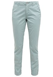 M A C Mac Chinos Ice Blue