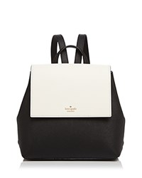 Kate Spade New York Cameron Street Small Color Block Backpack Black Cement