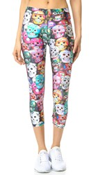 Zara Terez Dia De Los Muertos Performance Leggings Multi