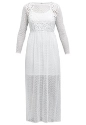 Cream Kythira Maxi Dress Chalk Off White